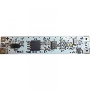 Bezdotykový spínač se stmívačem pro LED pásky MOVE, montáž ALU profil